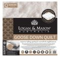 Logan & Mason 85/15 Goose Down Duvet Winter Weight